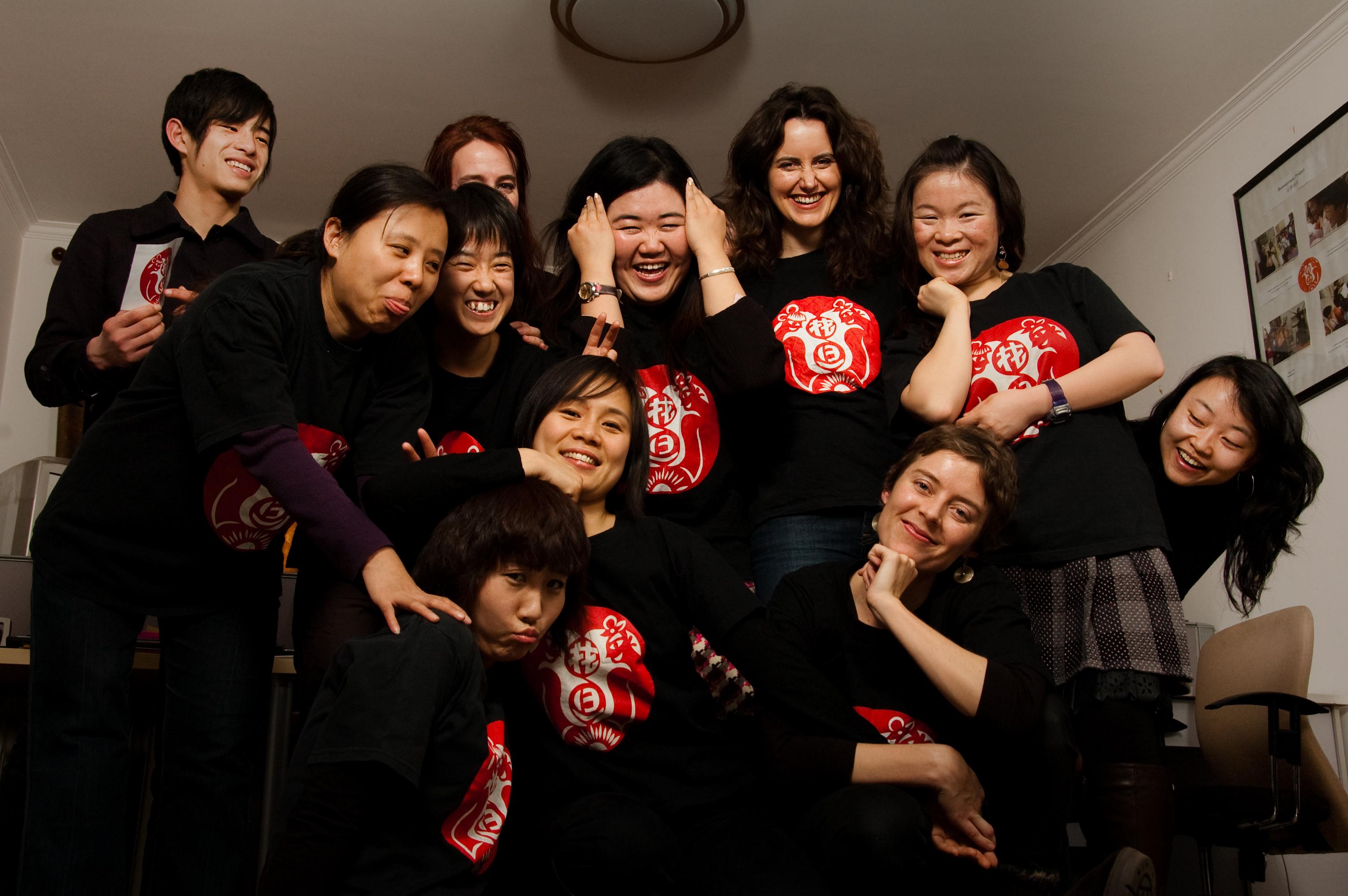 Caroline and the Hua Dan Team 3